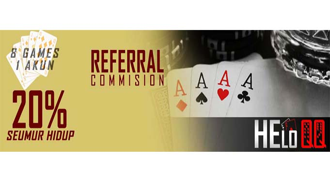 Bonus referral poker online uang asli