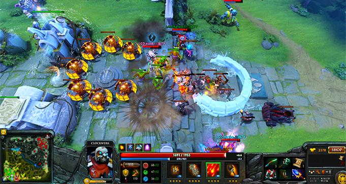 game dota online